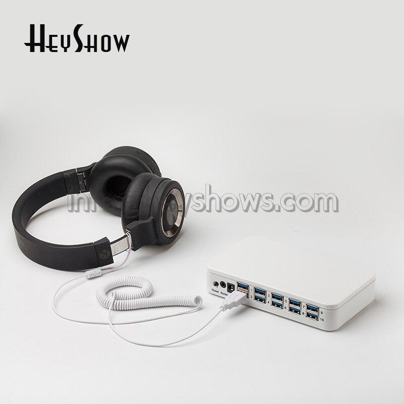 Système d'alarme de sécurité universel caméra alarme boîte montre Seguridad câble casque Anti-vol Dispay contrôleur pour magasin de détail