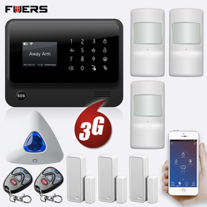Image 3 - FUERS 2019 NEW WIFI GSM 3G G90B Wireless Home Security Alarm System IOS Android APP Control Home Burglar Security