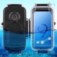 Haweel for galaxy s9 40m/130ft Professional Waterproof Diving Housing Photo Video Taking Underwater Cover Case For Galaxy S9