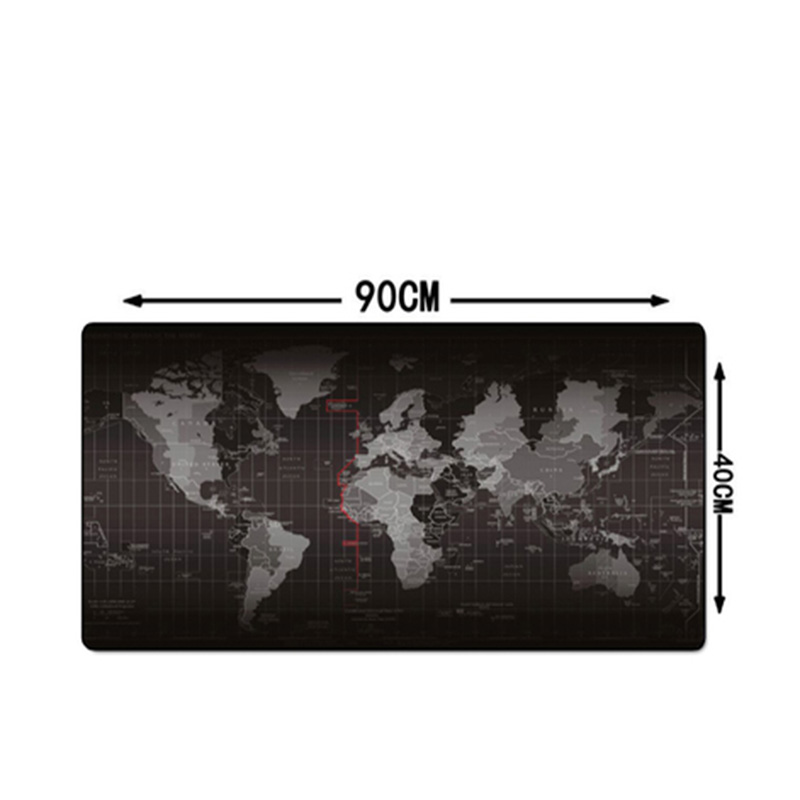 HHD-GJ 900*400MM Pro Ultra Large Rubber Professional Gaming Mouse Pad Locking Edge