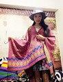 2016 Luxury brand scarf boho womens new Brand tassels crochet Desinger Fur Bandana Poncho Blanket Pashmina Shawl Winter Echarpe