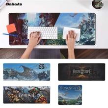 лучшая цена Babaite Non Slip PC runescape Laptop Computer Mousepad Free Shipping Large Mouse Pad Keyboards Mat