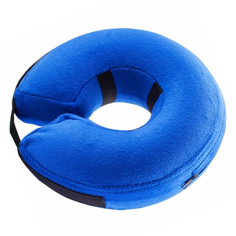 Inflatable Pet Collar for Dog Cat Wound Healing E-Collar Protection Medical Cone Collar Soft Pet Recovery Collar