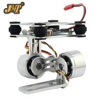 JMT Aluminum 2 axle Gimbal Camera Mount PTZ Steady with Brushless Motor Controller for Phantom DIY Quardcopter Drone