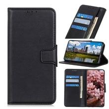 Litchi Grain Leather Wallet PU Phone Case For Xiaomi Redmi K20 Pro 5A 6A 7A 5 6 7 Note 6Pro