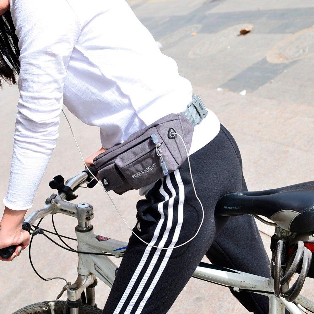 Prix pour Unisexe Sport Jogging Cyclisme Taille Sacs Étanche Taille Ceinture Pack Sac Pochette 5 Couleurs de Course Sacs EA14