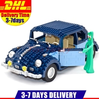 IN Stock Lepin 21014 1707Pcs Technic Classic Series The Ultimate Beetle Set Educational Building Blocks Bricks