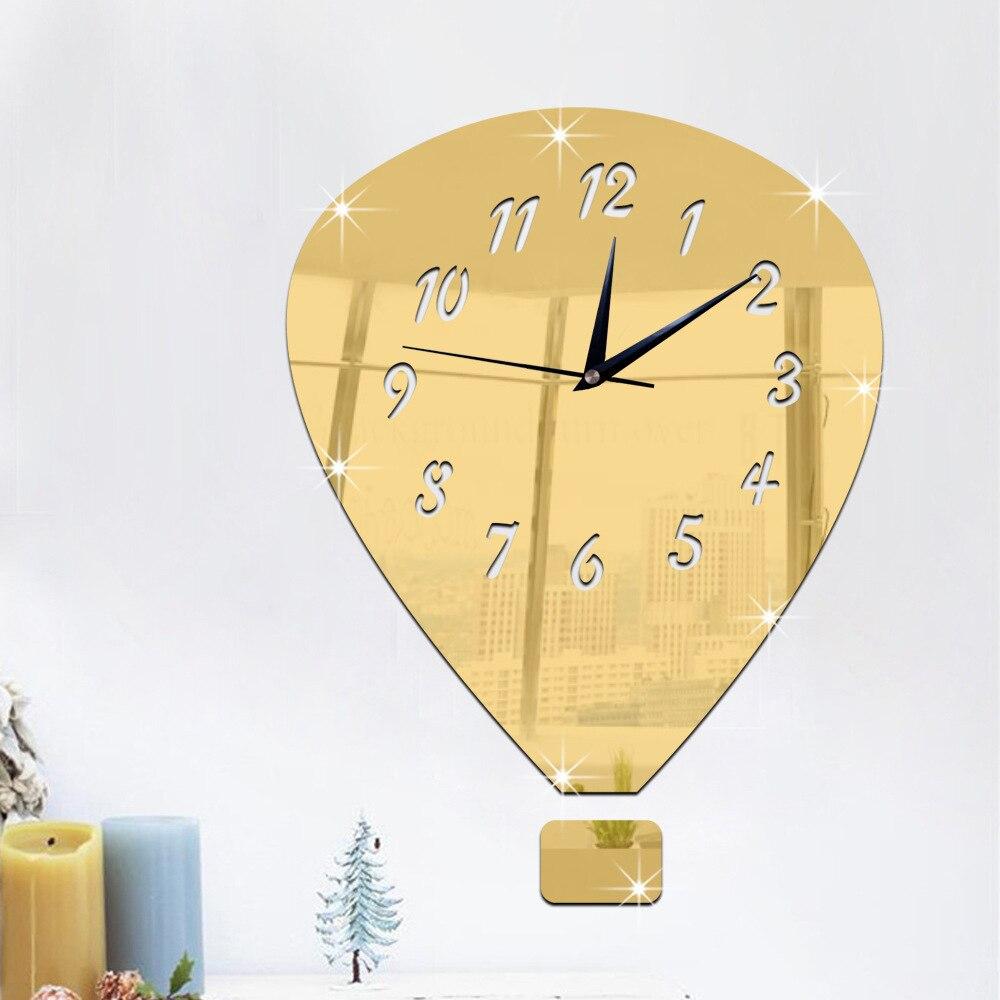 Aliexpress.com : Buy Creative Fire Balloon 3D Mirror Surface ...