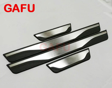 For MAZDA 6 Door Sill Scuff Plate Welcome Pedal Stainless Steel Car Accessories Car Styling 2014 2015 2016 2017 2018