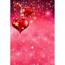 Bokeh Photo background heart shaped Photography backdrops for valentine's photography studio photo background camera fotografia