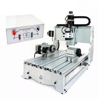 Free Shipping By DHL 1pc 4 Axis CNC 3040 T D300 Engraving Machine CNC Router Mini