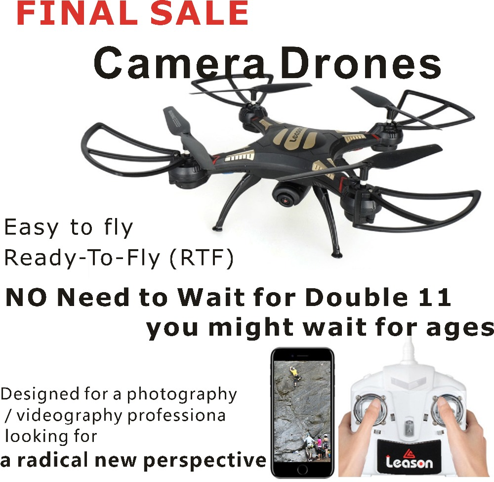 NOT A TOY UFO Professional Racing RC Drone with WIFI Camera 2.4G 4CH Remote Control Dron Quadrocopter Drones Real-Time Video