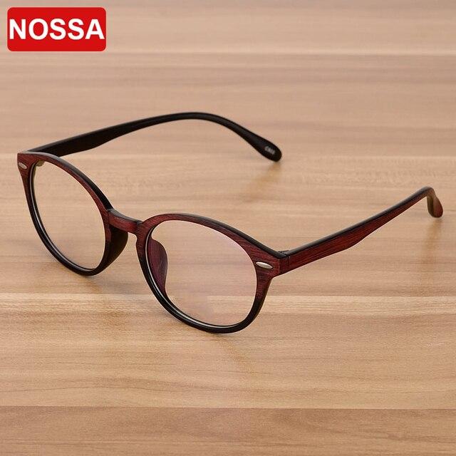 NOSSA Rodada Do Vintage Dos Homens Das Mulheres Óculos de Armação Quadro  Masculino Feminino Retro Pontos 40196d29fc