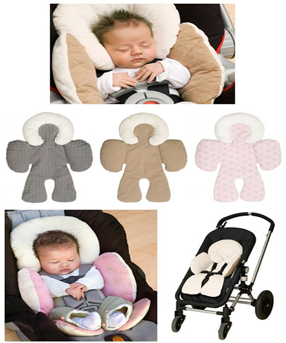 2016 Newest New Soft Liner Khaki Pram Pushchair Two Sided Baby Stroller Cushion Seat Cover
