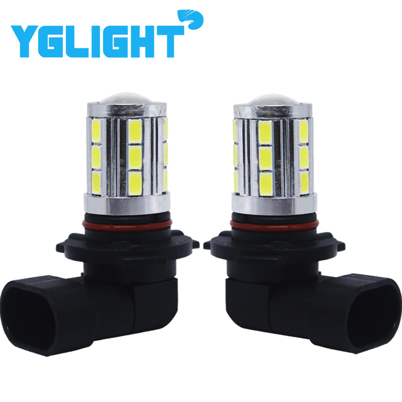 1pair Led Fog Light Car Bulbs With Canbus 9005/hb3 9006/hb4 H11 Fog Lamp DRL Driving Headlight Auto Head Front Lamp Led Lights