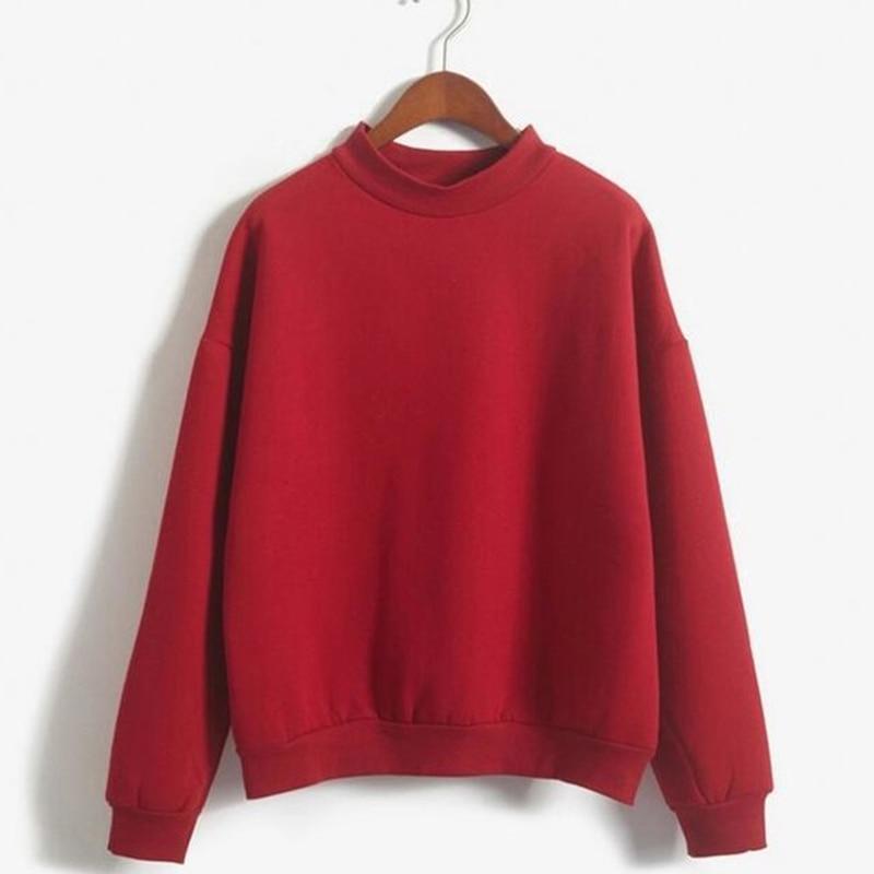Plus Size Sweatshirts Autumn Women 2018 Fashion Hoodies Long Sleeve Casual Harajuku Pullover Sweatshirt Tops