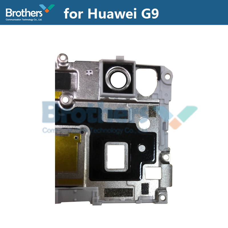 Fingerprint Sensor Plate For Huawei G9 Scanner Flex Cable Camera Lens Frame Holder For Huawei G9 Phone Replacement High Quality (3)