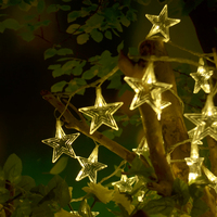 Romantic Star LED String Lighting Fairy Lights Outdoor Wedding Decoration Party Supplies