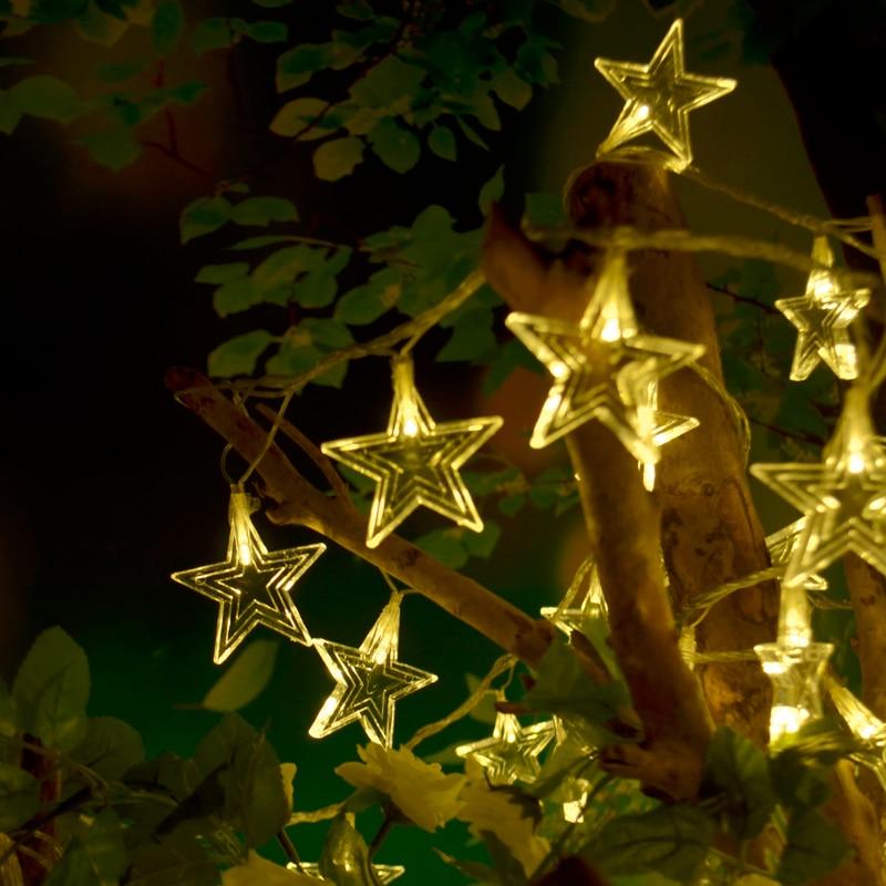 Big Christmas Tree Lights: Big Star LED Light Christmas Tree Decorations Light