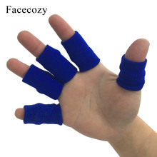 Hot 5 pcs Finger Guard Basketball Volleyball Sports Fingers Joint Protect Wraps Men Women Sleeves Elastic Bandage
