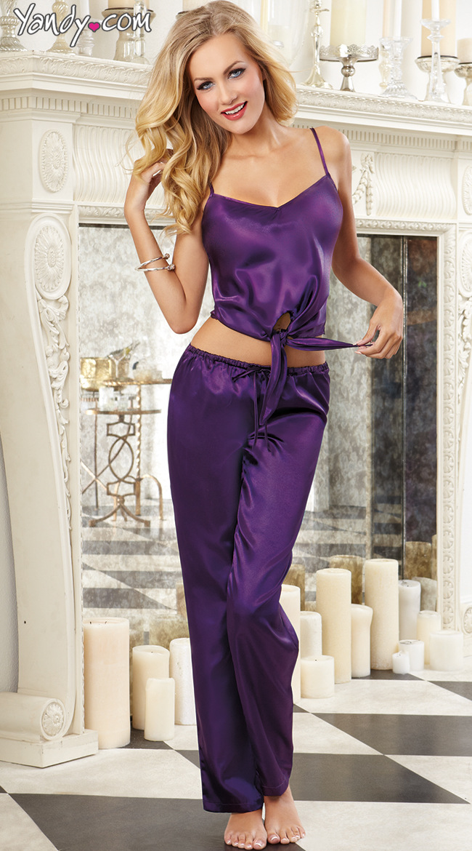 Popular Satin Sleep Pants-Buy Cheap Satin Sleep Pants lots from ...