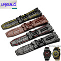 UYOUNG Leather watch band notch Leather Bracelet Watch Strap oak AP alternative accessories 28MM