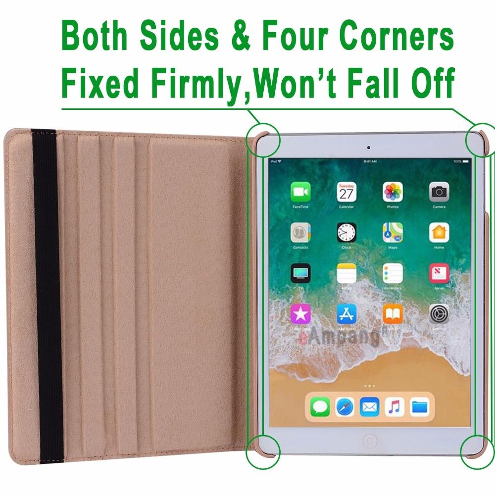 360Degree Funda de cuero con cubierta inteligente para Apple iPad Air - Accesorios para tablets - foto 5
