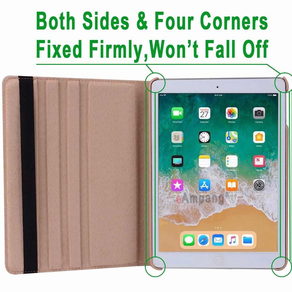 Для iPad 9,7 2018 2017 Чехол для iPad Air 2 Air 1 чехол 5 6 5th 6th поколения Funda 360 градусов вращающийся кожаный умный чехол