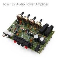 60W 12V Hi Fi Digital Stereo Audio Amplifier Volume Control Board
