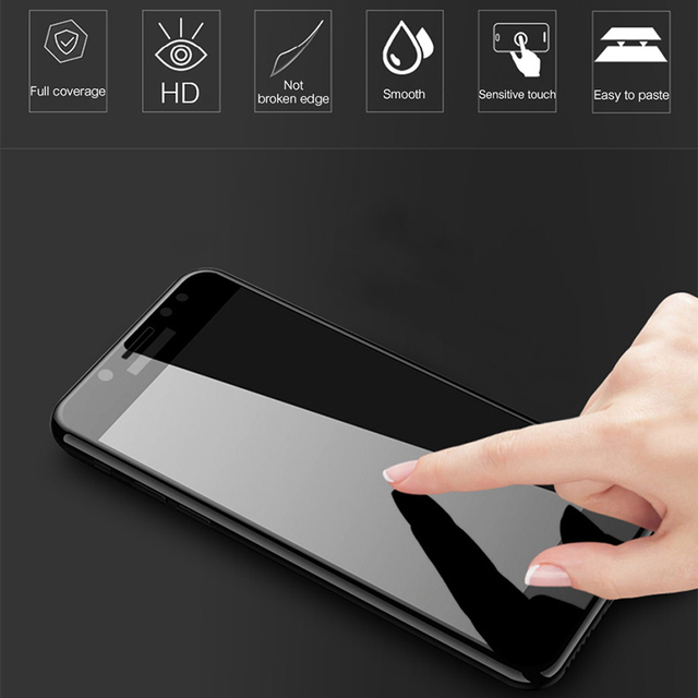 Protective glass for Samsung Galaxy A5 A7 A3 2017 2016 screenprotector samsong glaxay a 3 5 7 glas tremp full cover protection