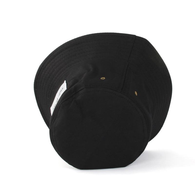 Classic Men Women Couple Bucket Hat Caps Autumn Spring Fisherman Panama Cotton Double Sunscreen Hats