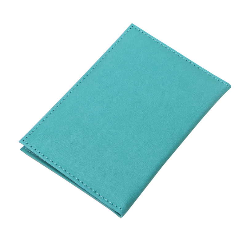 New Faux Leather Travel Passport ID Holder Cover Unisex Card Case Man Cards Holder