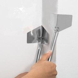 Venda quente de aço inoxidável putty faca drywall raspadores para ferramentas de construção em casa yin yang extrator mão ferramenta