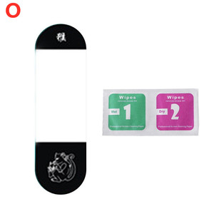 Image 5 - OOTDTY Anti scratch PET Colorful Screen Protector Protective Film for Xiaomi Mi Band 4 Smart Bracelet Accessories