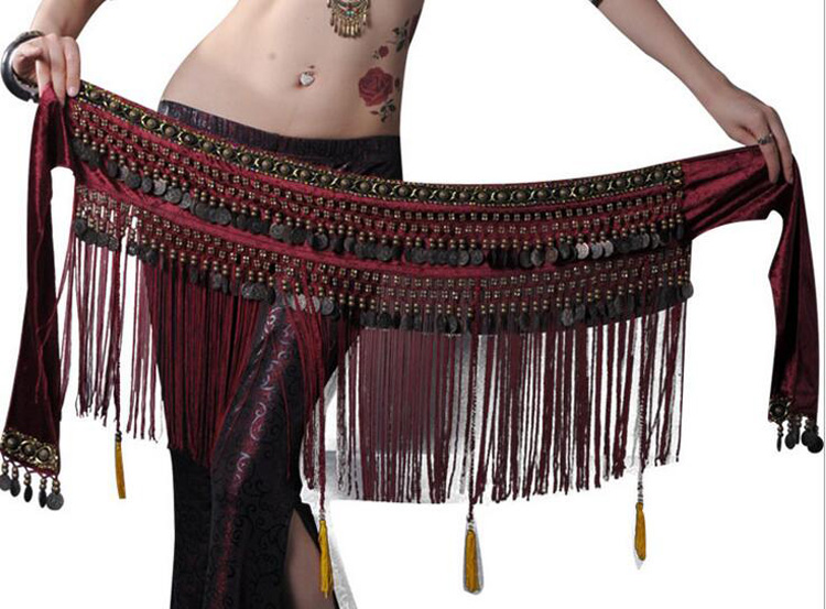 You Choose! Belly Dance Hip Scarves and Shawls
