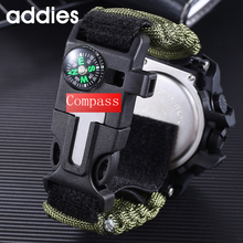 Brand Men Sports Watches Dual Display Analog Digital LED Compass Electronic Quartz Wristwatch Waterproof Swimming Military Watch все цены