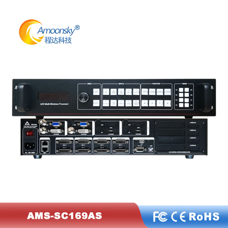 Rental Led Video Wall Usage HD External Video Processor Scaler LED Display Video Processor High Quality
