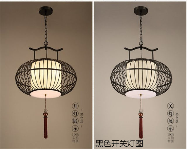 Online shop new chinese style wrought iron pendant light antique new chinese style wrought iron pendant light antique bird cage lamp bird cage pendant light balcony lamps aloadofball Image collections