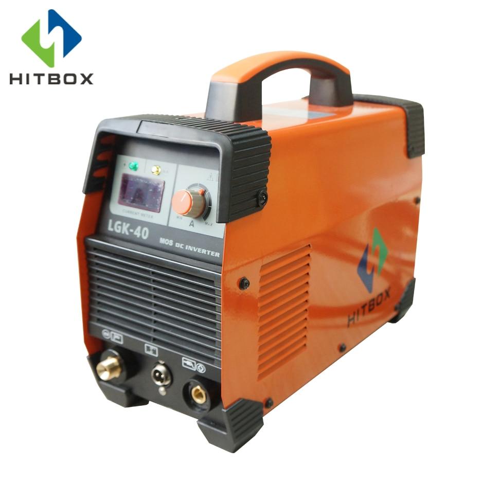 HITBOX CUT40 Plasma Cutter Mosfet Machine Monophasé 220 V Avec Accessoires Standard