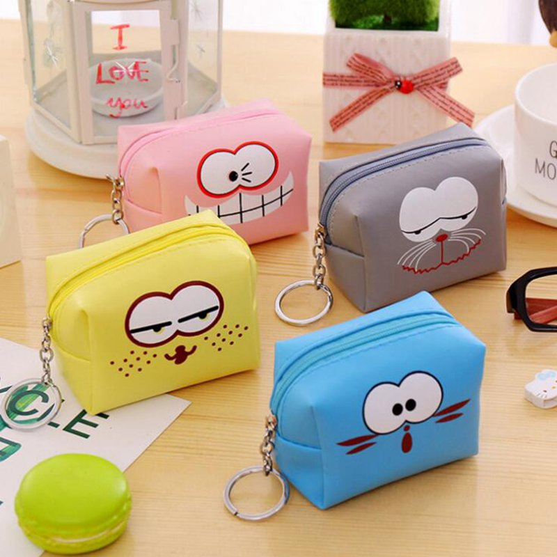 Solid Cute Coin Purse Women Men Girls Kids Mini Wallet Card Key Earphone Holder Bag Packet Holder Money Bag Pouch Coin Case brand passport women wallets case travel leather wallet female key coin purse wallet women card holder wristlet money bag small