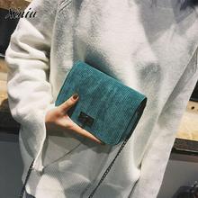 Бренд XINIU, новые модные женские сумки-мессенджеры, повседневные кожаные клатчи, шерстяные Сумки на застежке, сумки через плечо