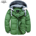New Children Jackets For Boys Girls Winter White Duck Down Jacket boys Coats Hooded Parkas Moveable-Sleeve down Children Coat
