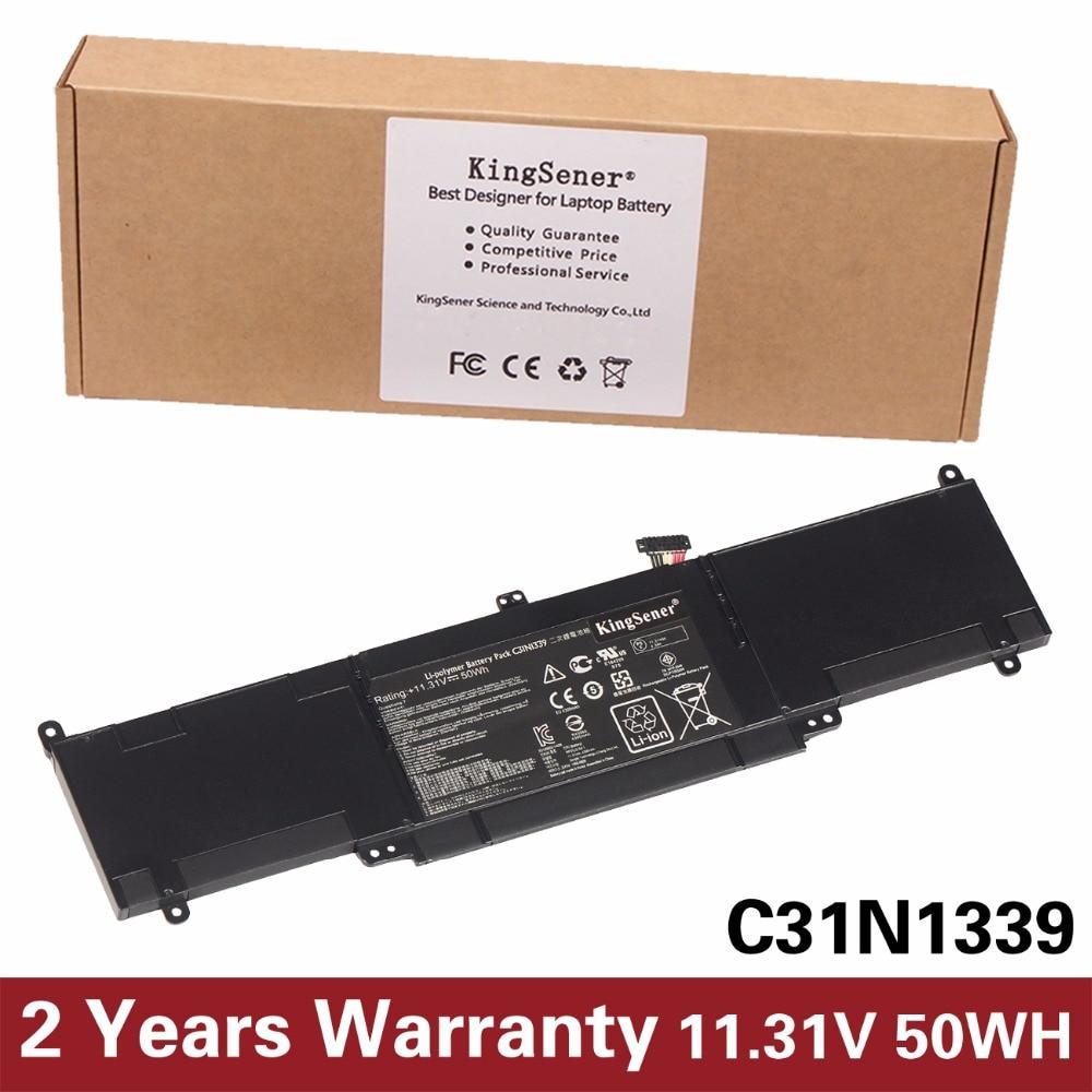 11.31V 50WH KingSener New C31N1339 Battery For ASUS ZenBook ASUS Zenbook UX303L UX303LN TP300L TP300LA TP300LJ C31N1339 цена