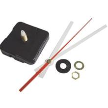 DHL 100 sets Silent Quartz Wall Clock Movement Mechanism Wide Hands Repair Kit Tool Set 21mm Shaft