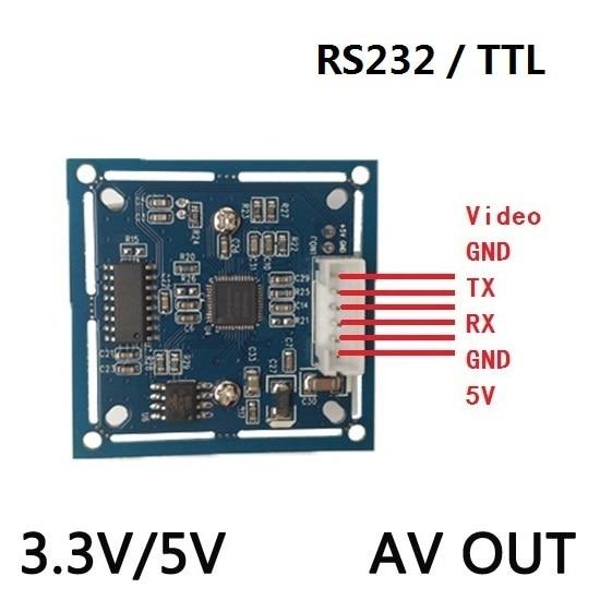 RS232/TTL Arduino JPEG Digitale Serielle Kamera Modul SCB-1 mit video out Unterstützung VIMICRO VC0703 VC0706 protokoll