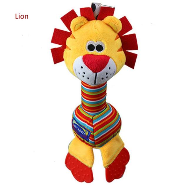 Baby Teether Mobile Toy Soft toys Rattle Early Educational Development brinquedos infantis juguetes para bebes jouet