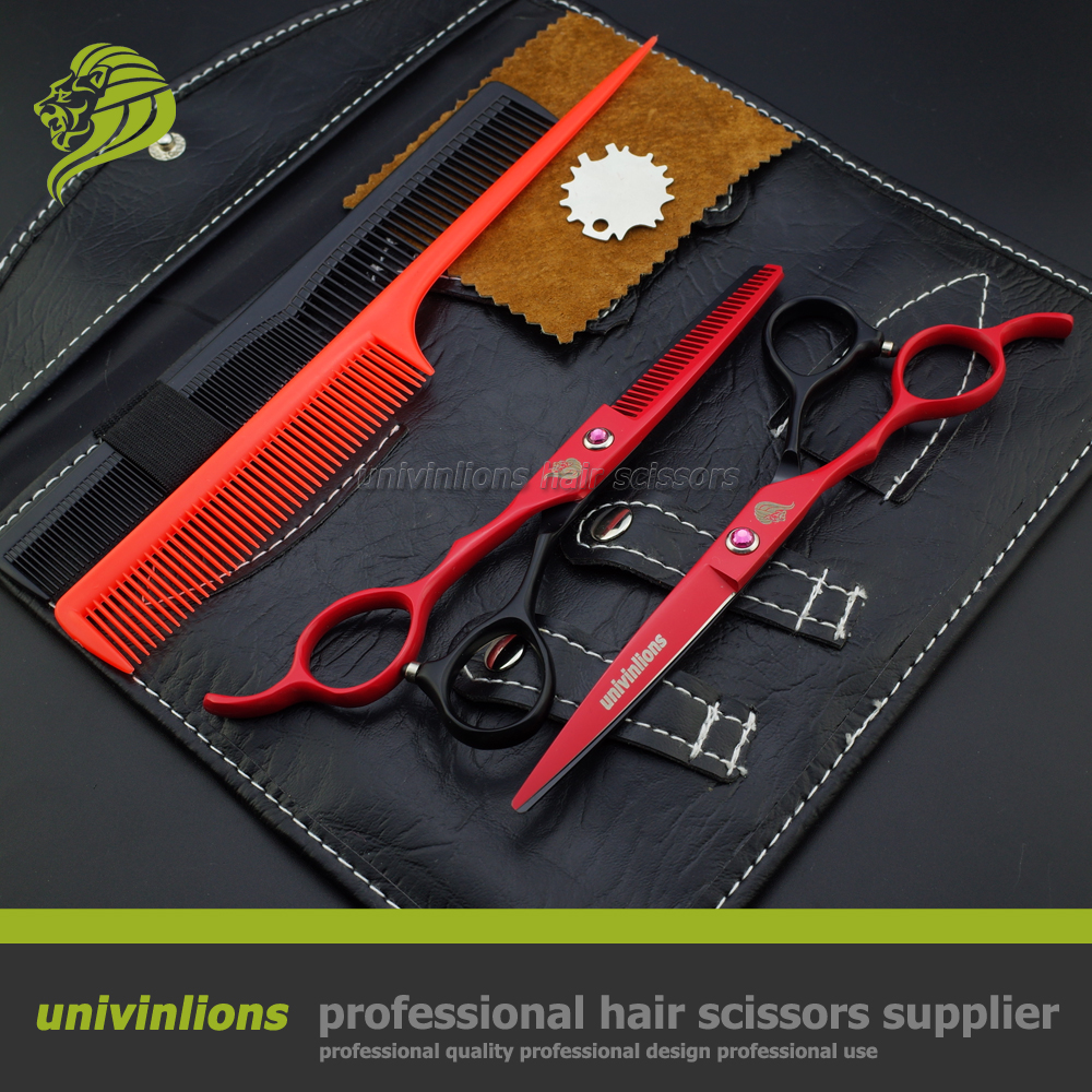 6 professional japan 440C left handed scissors thinning shears left handed hairdressing scissors left handed barber scissors