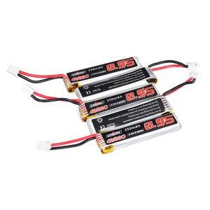 Image 3 - 5/10 adet URUAV 3.8V 250mAh 40C/80C 1S Lipo pil şarj edilebilir W/ PH2.0 fiş konnektörü için US65 UK65 QX65 URUAV UR65