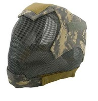 Tactical Paintball Airsoft Gear Full Face Eyes Nose Wear Protector Safety Guard Mesh Hunting Mask paintball Mask