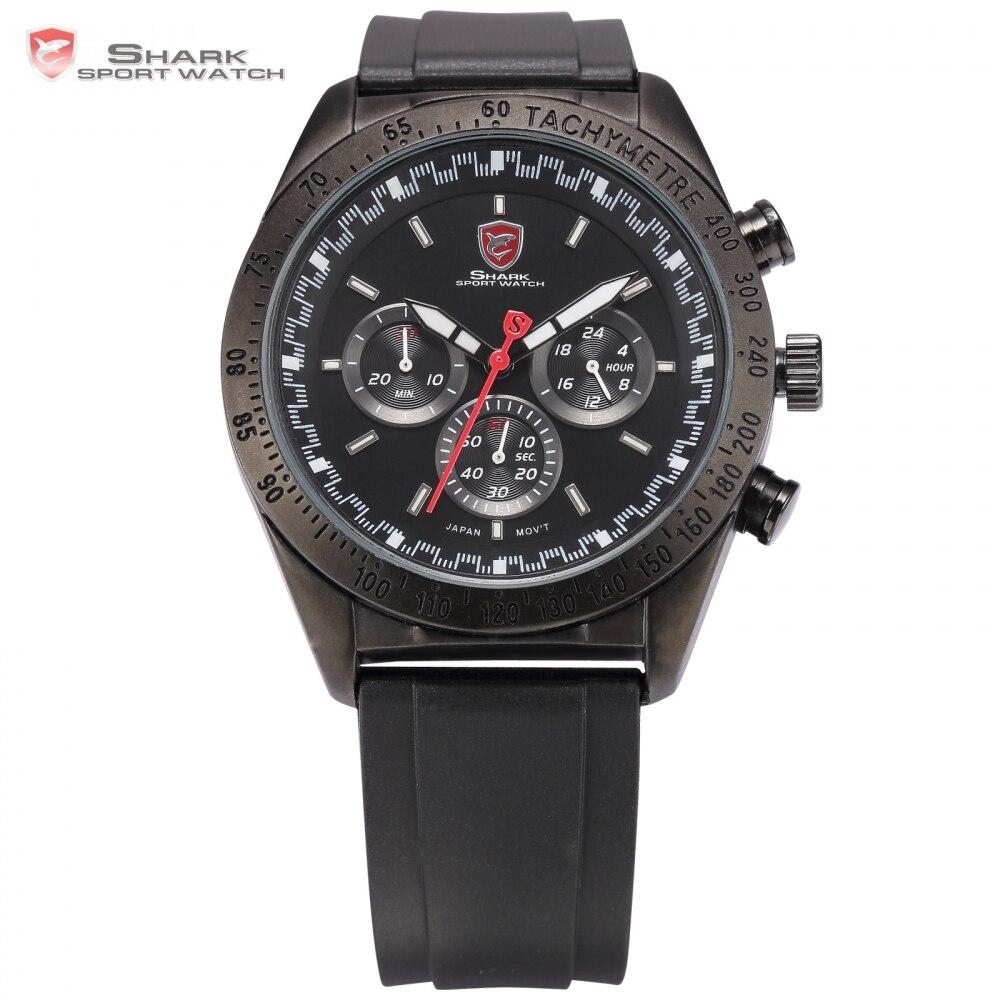 Swell Shark Sport Watch Tag Top Brand Relogio Masculino Black White Silicone Strap Military Male Quartz-watch Men Clock / SH272 greenland shark sport watch brand